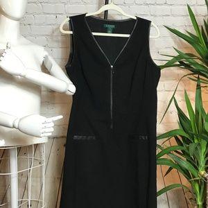 Ralph Lauren Black Sleeveless Dress size 14